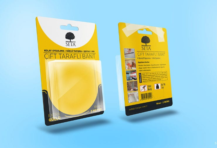 Blister Pack Free Mockup PSD Template