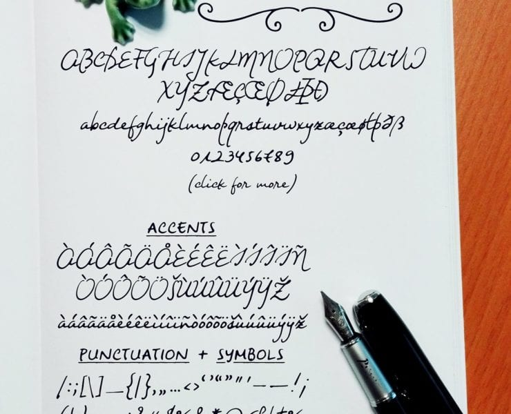 Night Wind Sent Sample Font - Engine Templates