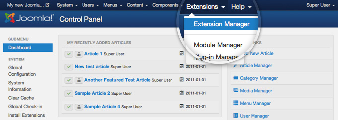 How to Remove Joomla Extensions