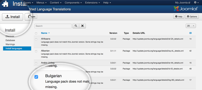 How to Change Joomla Admin Language