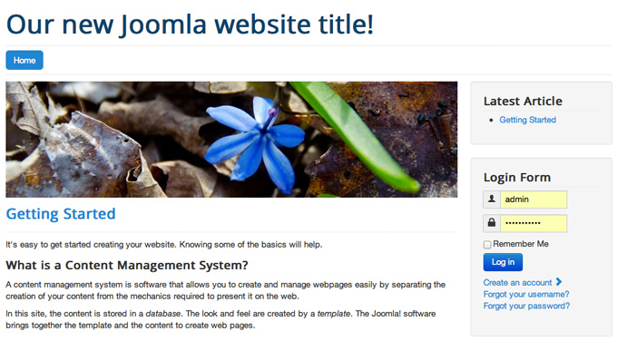 The Joomla Layout Explained