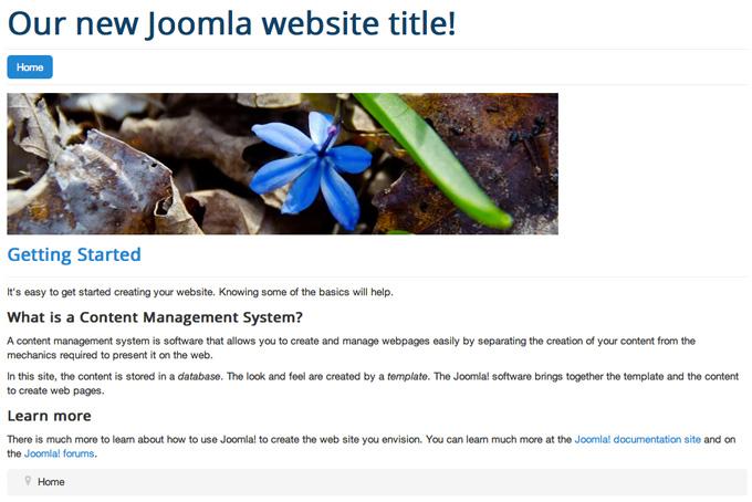 The Joomla Layout Explained