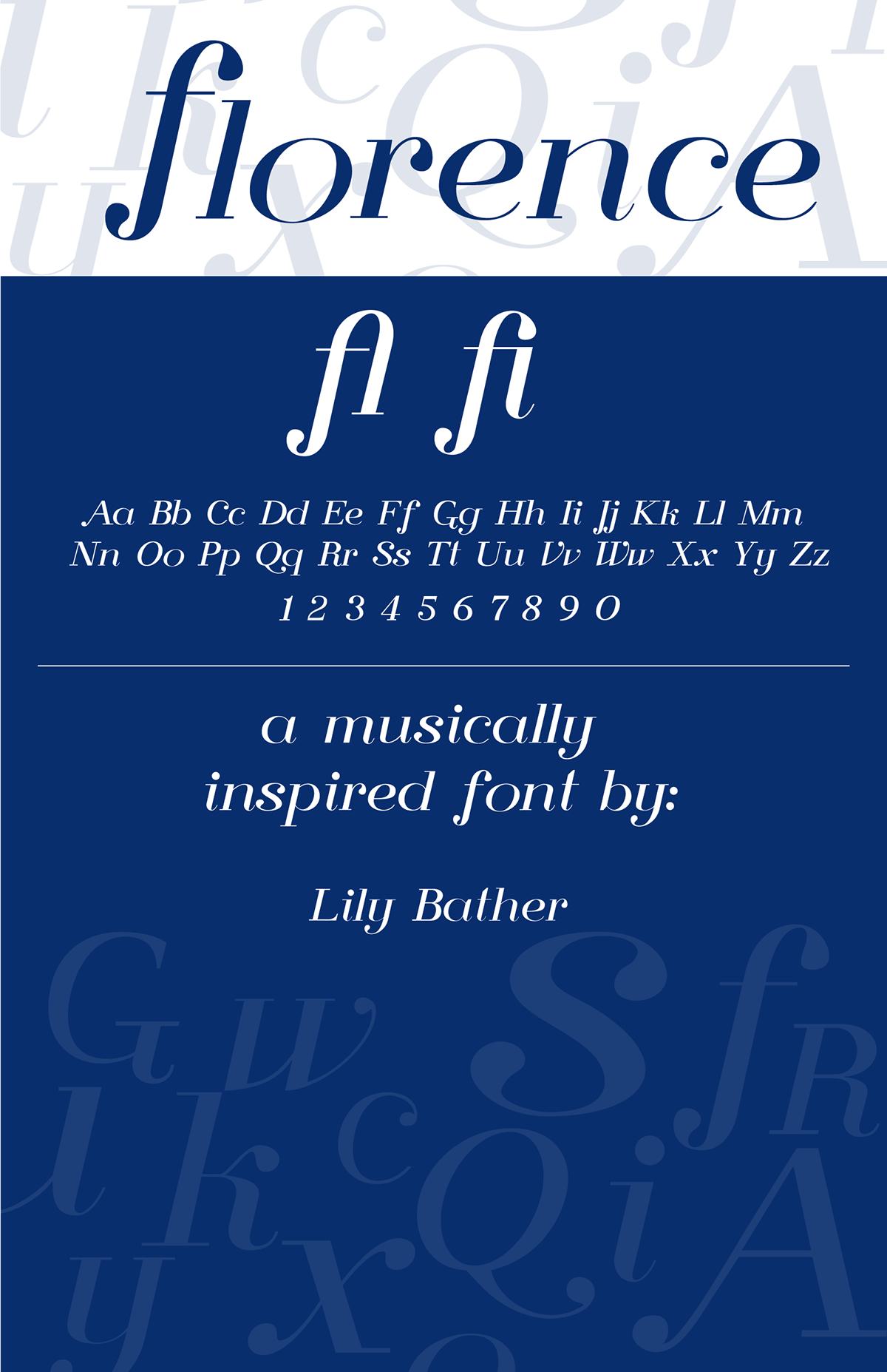 Florence Free Serif Typeface