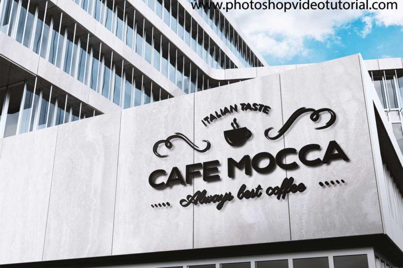 Realistic Free Logo Mockup Templates