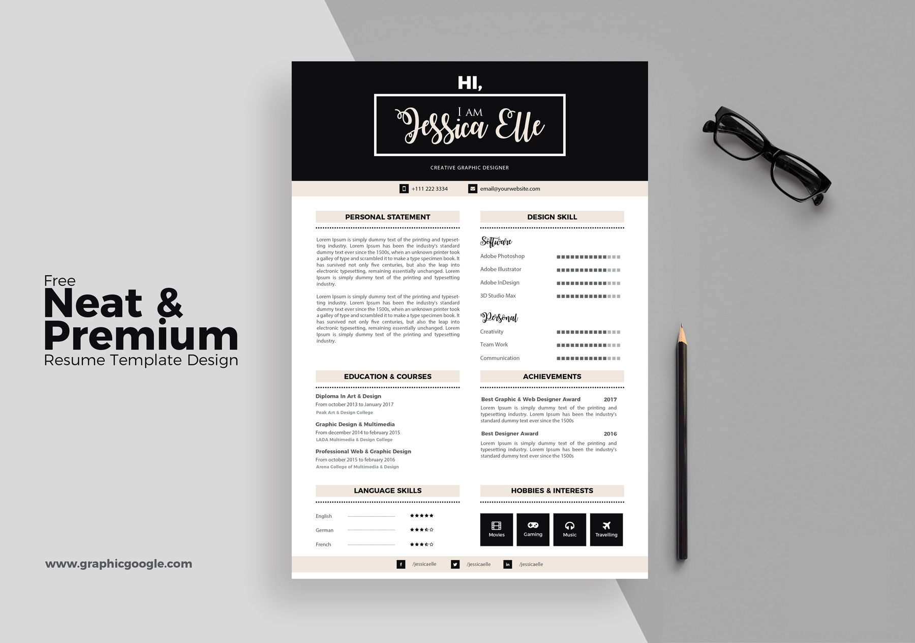 free professional resume template engine templates