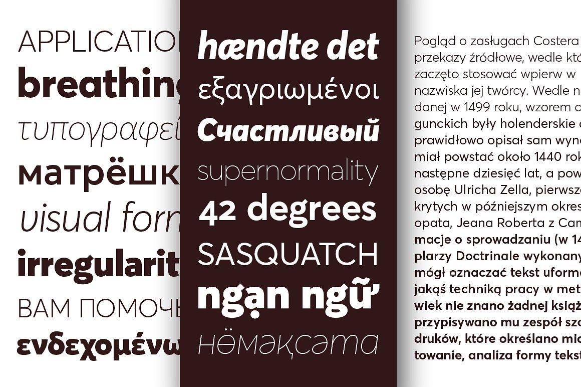 Averta Free Font Family