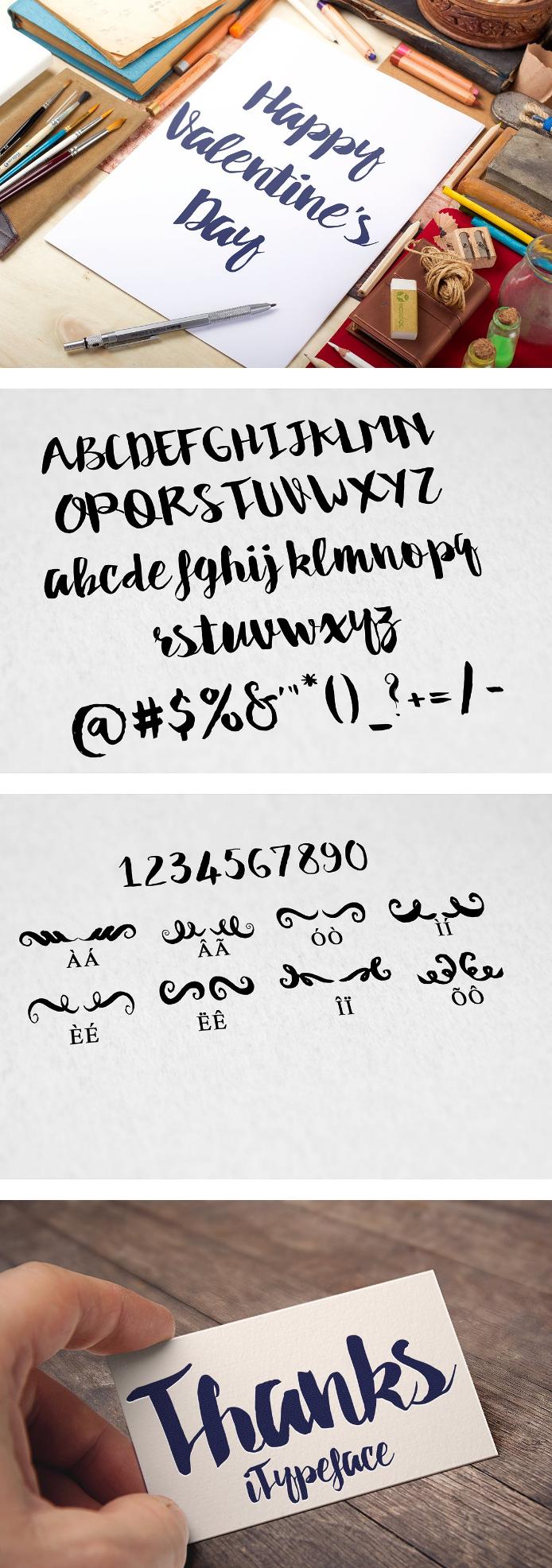 Dakota Script Calligraphy Typeface
