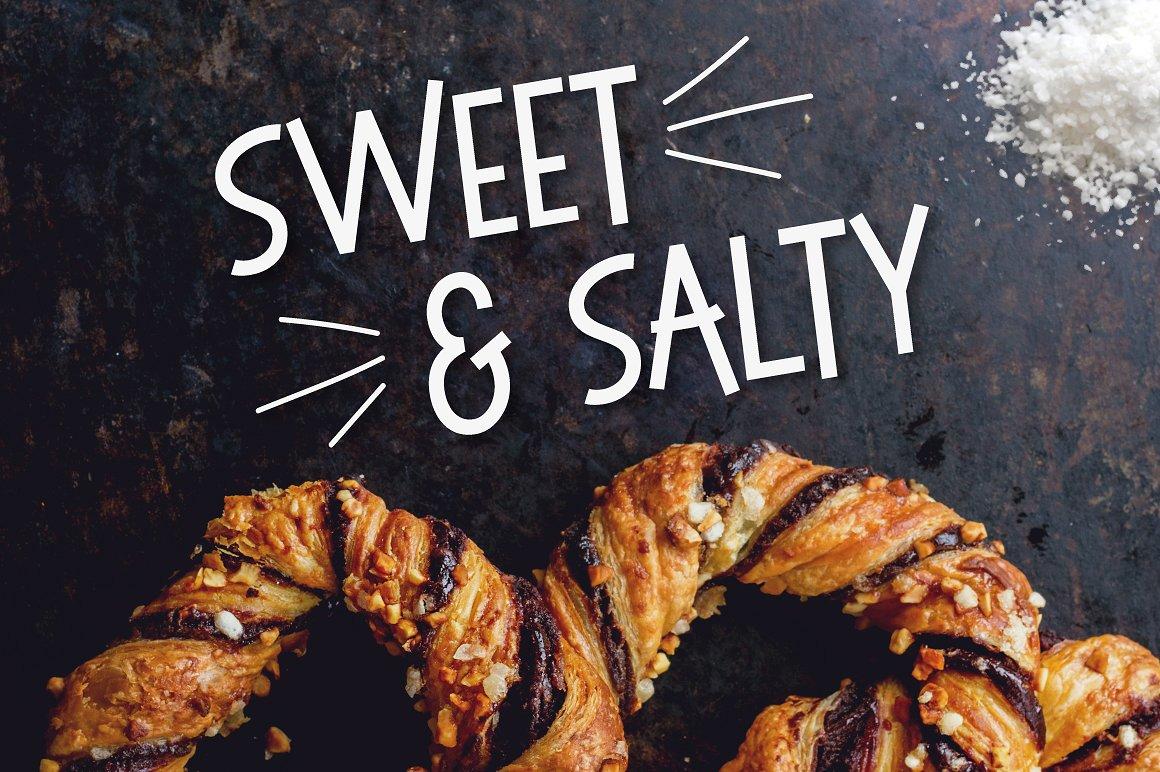 Sweet & Salty Free Sans Serif Typeface