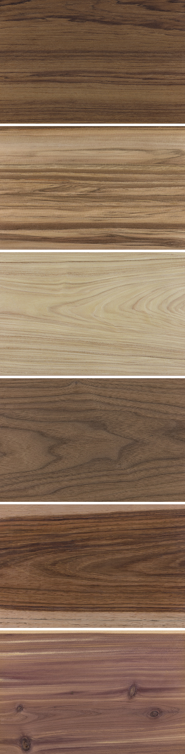 Set Of 6 Free Wood Texture