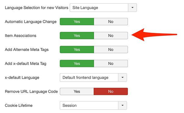 How to use Multilingual Associations feature in Joomla 3.7