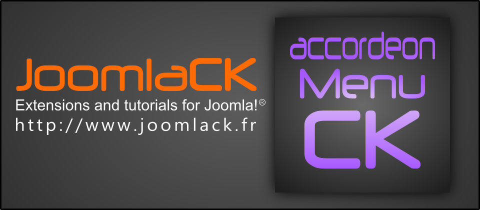 Accordeon Menu CK Joomla Menu System Extensions