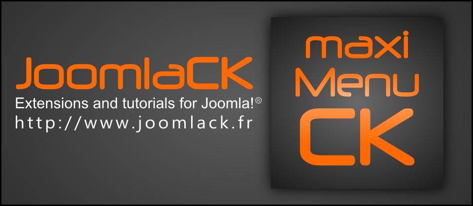 Maxi Menu CK Best Joomla Menu System Extensions