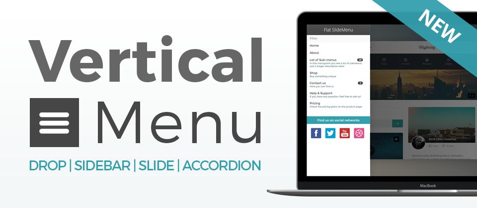 Vertical Menu Joomla Menu System Extensions