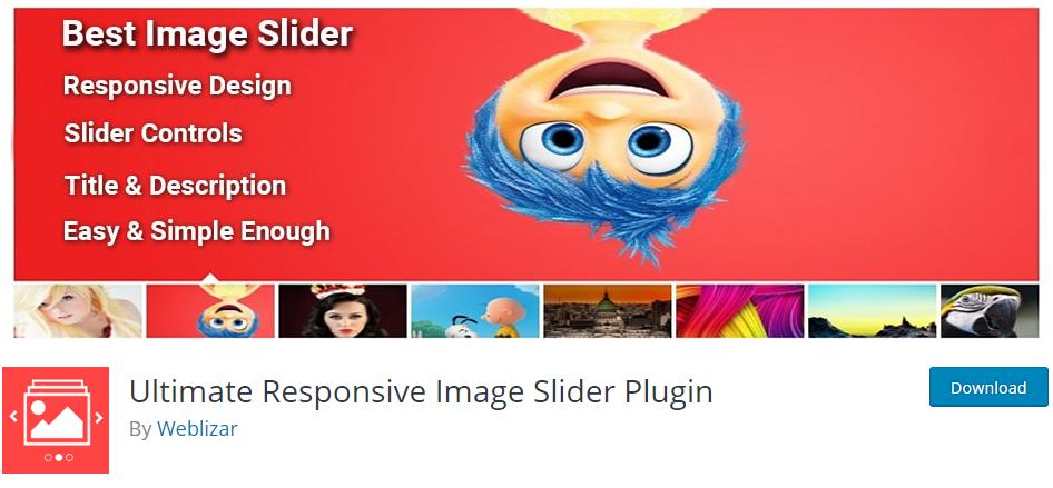 Ultimate Responsive Image Slider Plugin