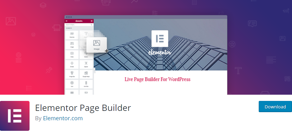 Elementor Page Builder Best Page Builder WordPress Plugins