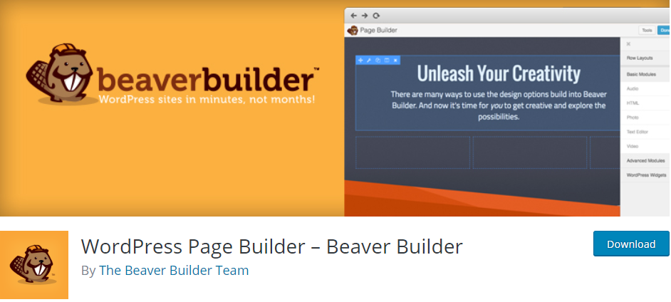 3. WordPress Page Builder – Beaver Builder Best Page Builder WordPress Plugins