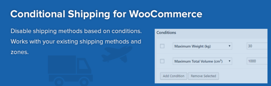 Conditional-Shipping-for-WooCommerce
