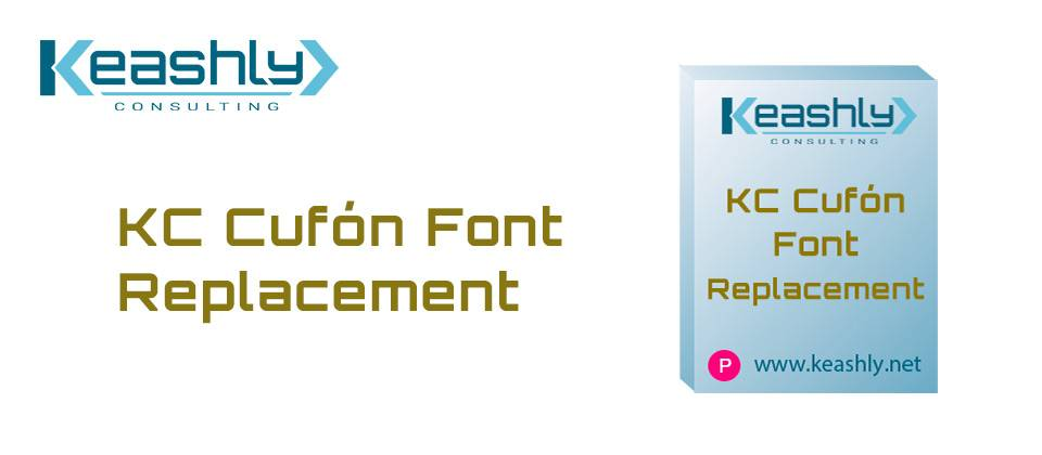 KC Cufón Font Replacement