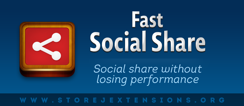 Fast Social Share extension