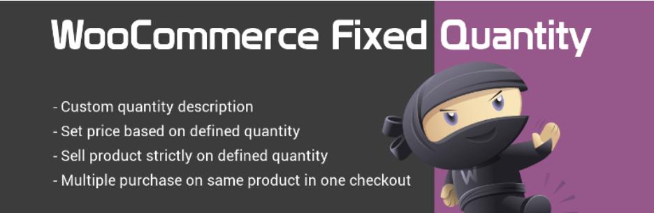 WooCommerce-Fixed-Quantity