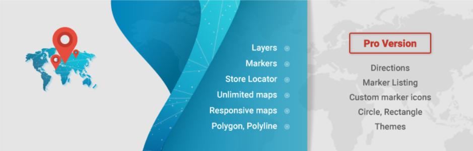 10Web Google Maps – Google Maps builder Plugin