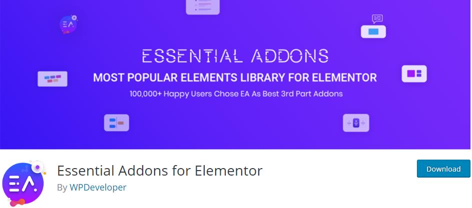 WordPress Elementor Addon plugin