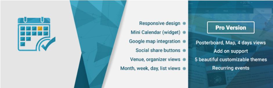Event Calendar WD – Responsive Event Calendar plugin
