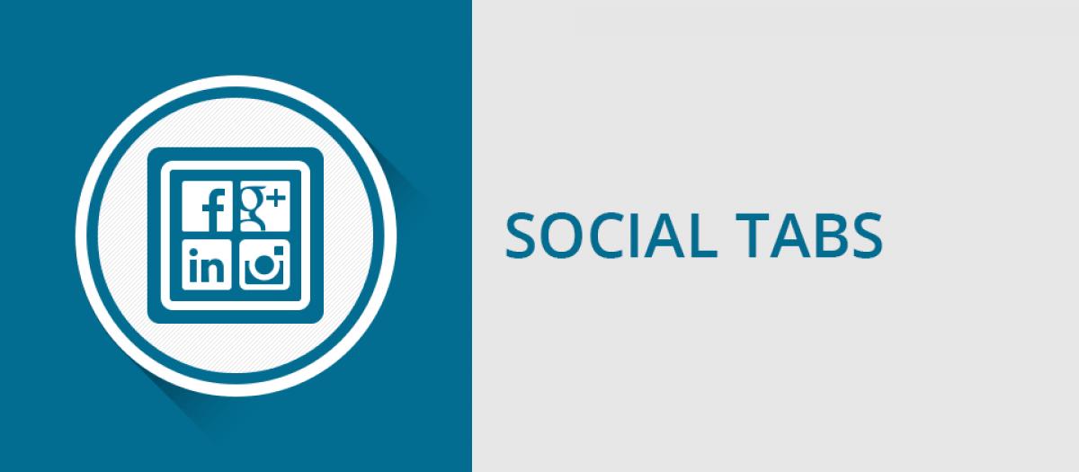 Social Tabs joomla social presense extension