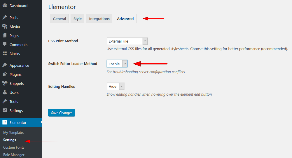 Troubleshooting A Slow Loading Elementor Editor