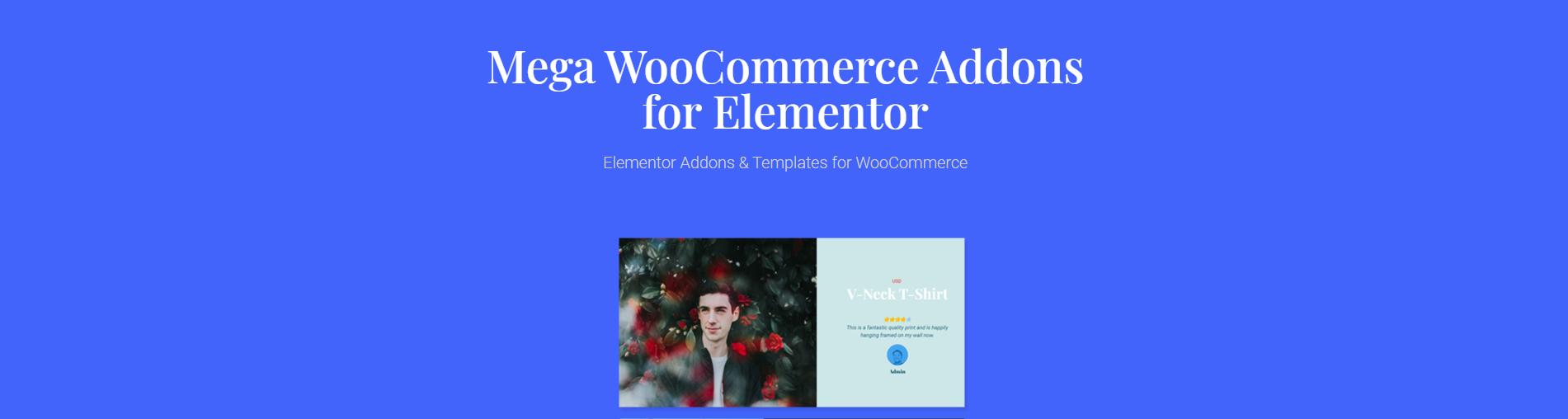 Mega WooCommerce Addons for Elementor