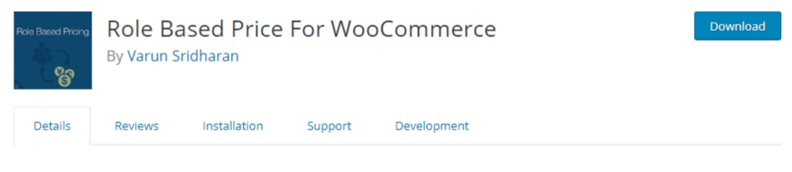 Role-Based Price For WooCommerce