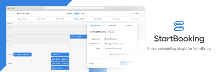 WordPress Calendar Booking