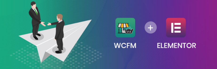 WCFM Marketplace integrate Elementor