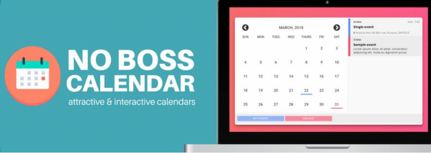No Boss Calendar