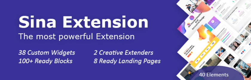 Sina Extension for Elementor