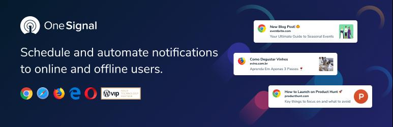 OneSignal Web Push Notifications