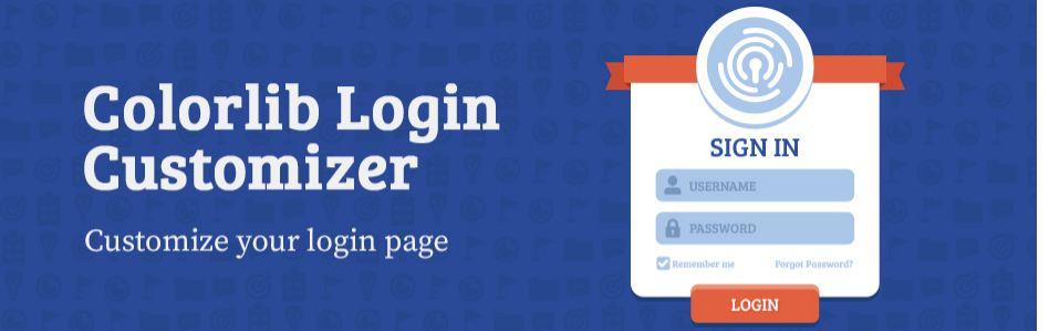 Custom Login Page Customizer by Colorlib