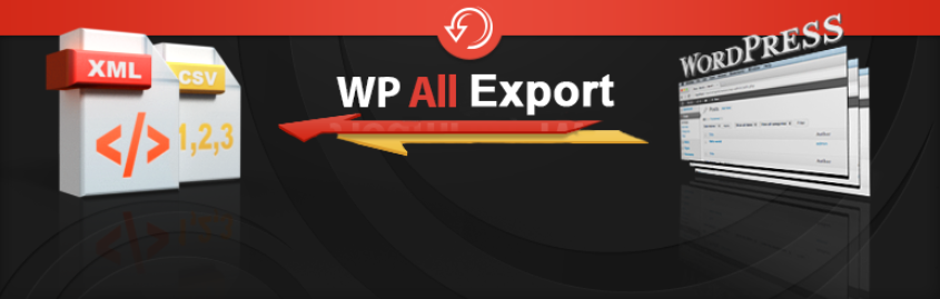 Export any WordPress data to XML/CSV