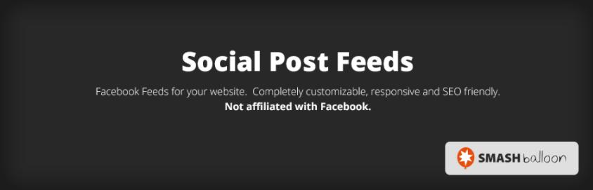 Custom Facebook Feed from Smash Balloon