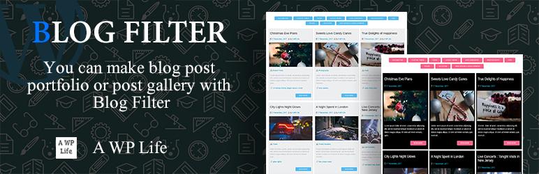 Blog Filter