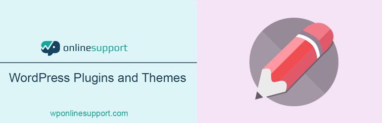 Blog Designer for Post and Widget