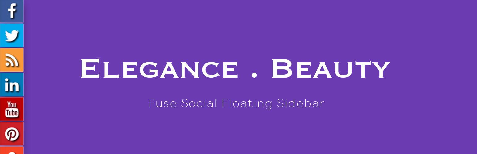 Fuse Social Floating Sidebar