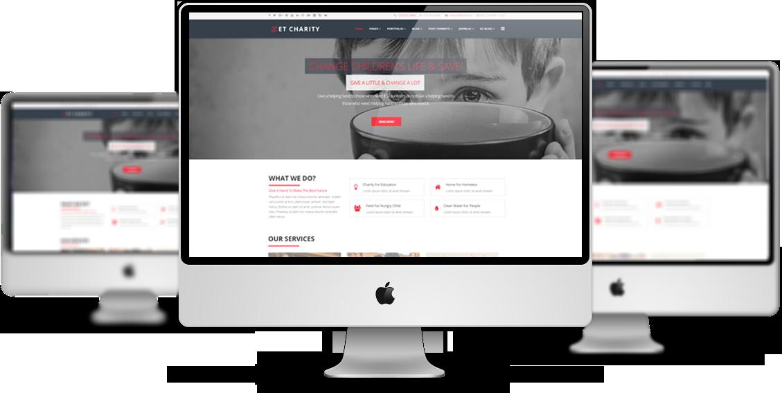 ET Charity – Free Responsive Charity Joomla! Templates