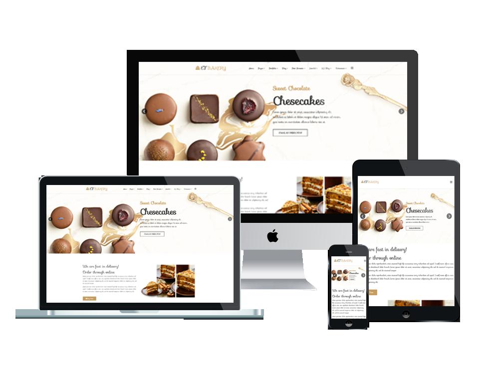 Et Bakery Free Responsive Bakery Website Templates