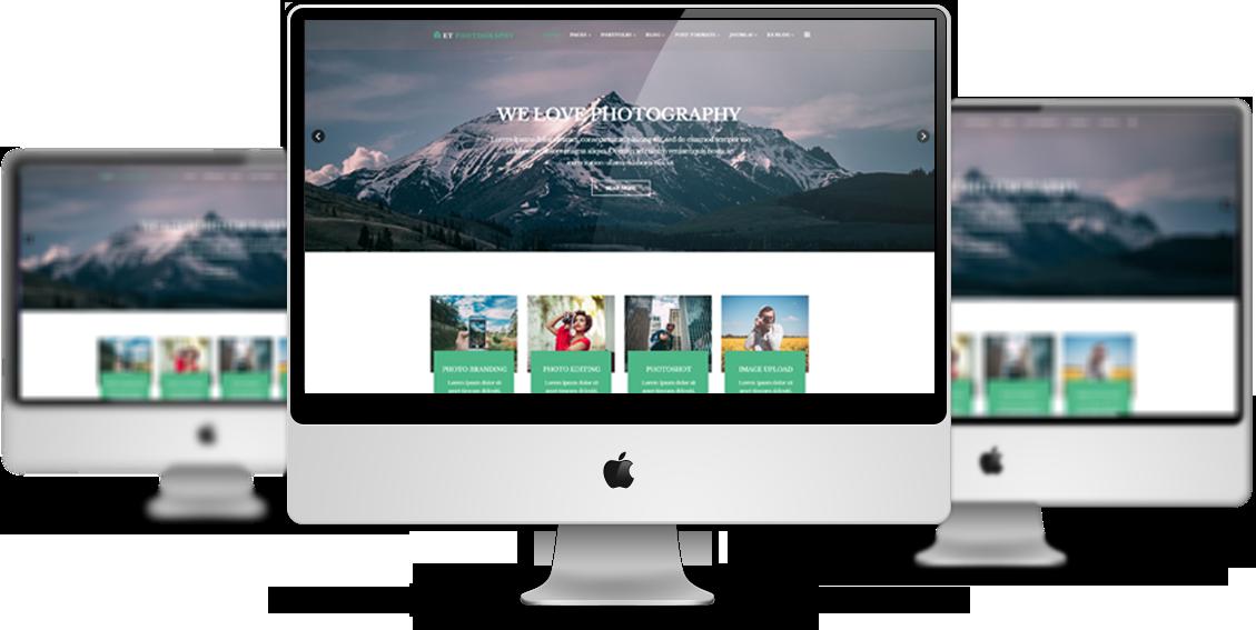 ET Photography – Free Responsive Joomla Photography Template