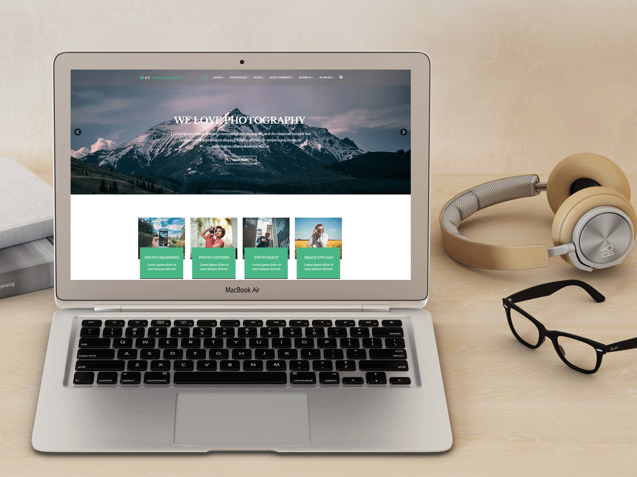 clean photographer portfolio joomla template 45872 et photography free responsive joomla photography template