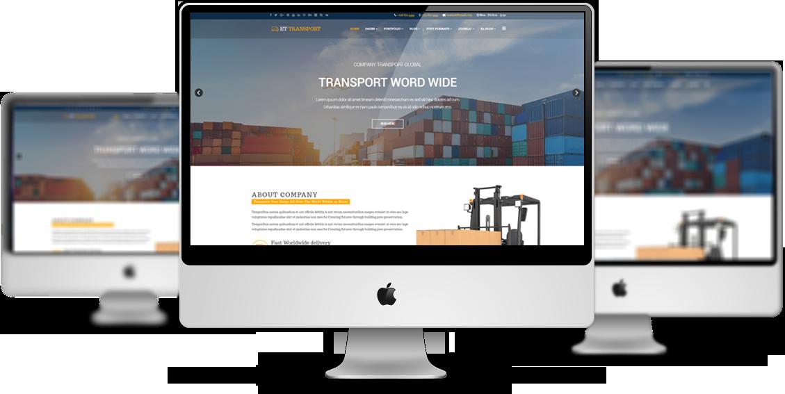 ET Transport – Free Responsive Transport Website Template