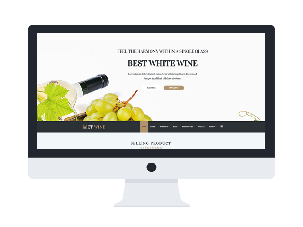 et wine free responsive wine joomla template