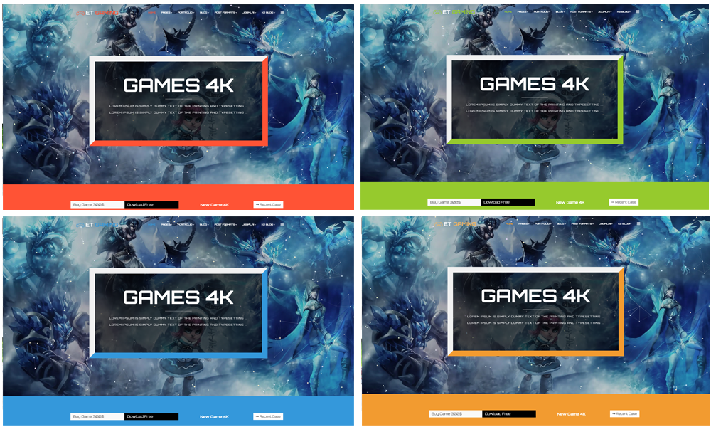 et gaming free responsive joomla gaming templates engine templates