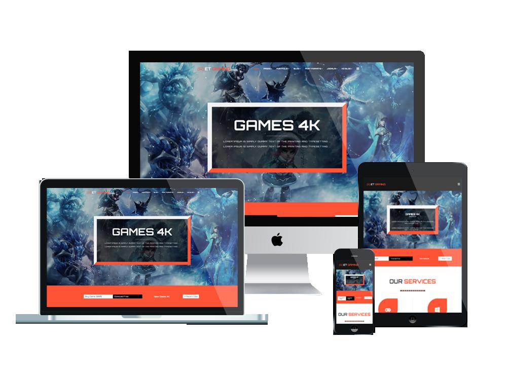 et gaming free responsive joomla template - Free Responsive Joomla Templates